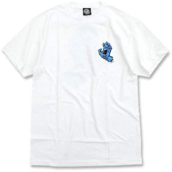 [サンタクルーズ] Tシャツ 半袖 メンズ スクリーミング ハンド サイズL ホワイト [並行輸入品]