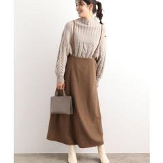 【WEB限定】バックリボンジャンパースカート【お取り寄せ商品】