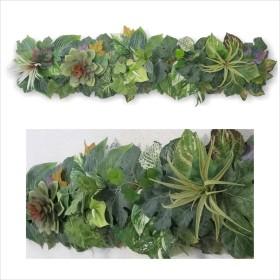 gf 観葉植物 インテリア 壁掛け 多肉植物 フェイク グリーン アートパネル 絵画 プレゼント