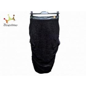 エリザベッタフランキ ELISABETTA FRANCHI スカート サイズ40 M レディース 美品 黒 新着 20191126