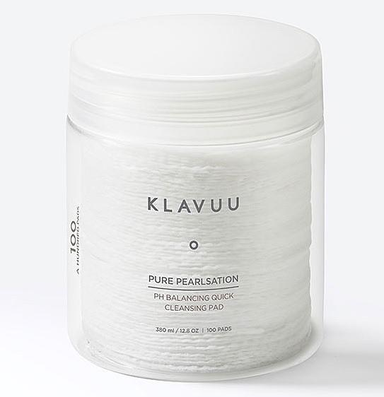 ●魅力十足● KLAVUU PH平衡潔面卸妝棉 100片裝