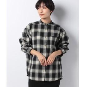 【メラン クルージュ】オンブレーチェックシャツ