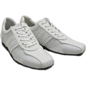 [バジエ] メンズ スニーカー 靴 2220-0401(27cm 10(白))