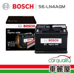 BOSCH 博世 電瓶BOSCH AGM80 S6+LN4歐系啟停_送安裝(車麗屋)