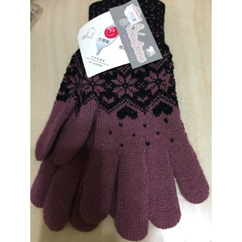 台製紫色典雅手套