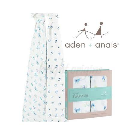 美國Aden + Anais 有機棉包巾(二入裝) 繽紛蝴蝶 9500