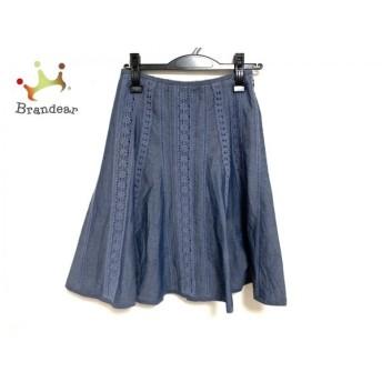 エムズグレイシー M'S GRACY スカート サイズ36 S レディース ブルー 新着 20191127
