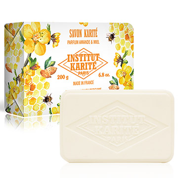 Institut Karite Paris 巴黎乳油木 乳油木杏仁蜂蜜皂 200g
