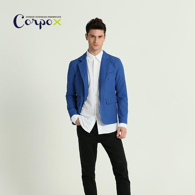 【Corpo X】3M防潑水西裝外套-藍