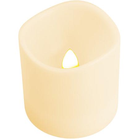 《REFLECTS》LED蠟燭燈(白)