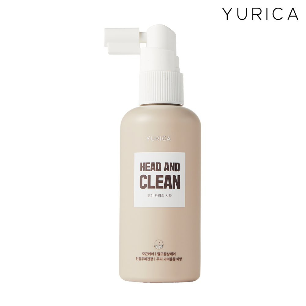 【YURICA】 福利品-頭皮舒緩潔淨噴霧(效期:2021.7.19)