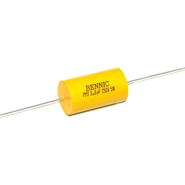 BENNIC 高級電容器 音響 喇叭 專用 PMT 5.6 UF 250V 無極性 電解電容 一批2個 ANV DIY