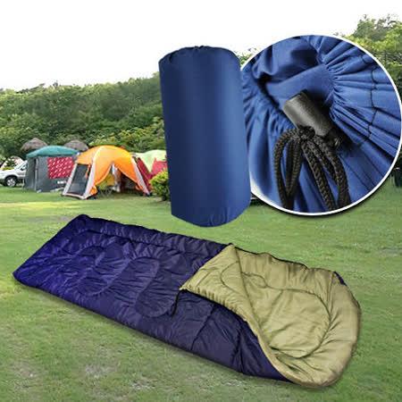 ★ 多功能全開式睡袋 ★ 可當棉被、墊舖等多用途使用 ★ 適合四季出遊,攜帶方便
