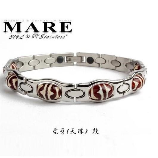 【MARE-316L白鋼】系列:天珠 虎牙 款