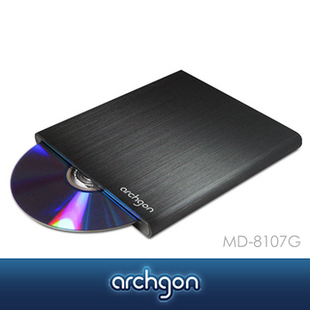 archgon 8X USB 3.0 吸入式DVD燒錄機 MD-8107G