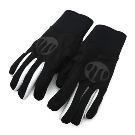 SOGK 戰神防風手套-全指手套 單車 自行車 黑白