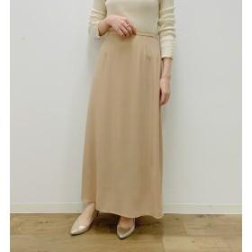 【ラウンジドレス/Loungedress】 シャイニーマキシスカート