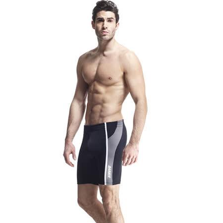 【SARBIS】MIT彈性五分泳褲附泳帽B53412