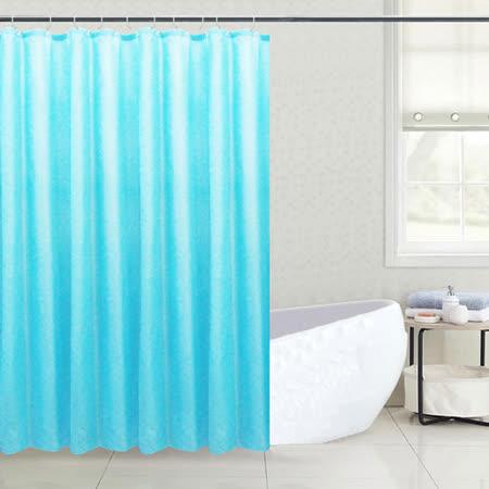 LISAN特級加厚防水浴簾-A-024經典不凡 綠味青