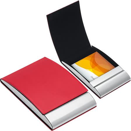 《REFLECTS》Vannes直式名片盒(紅)
