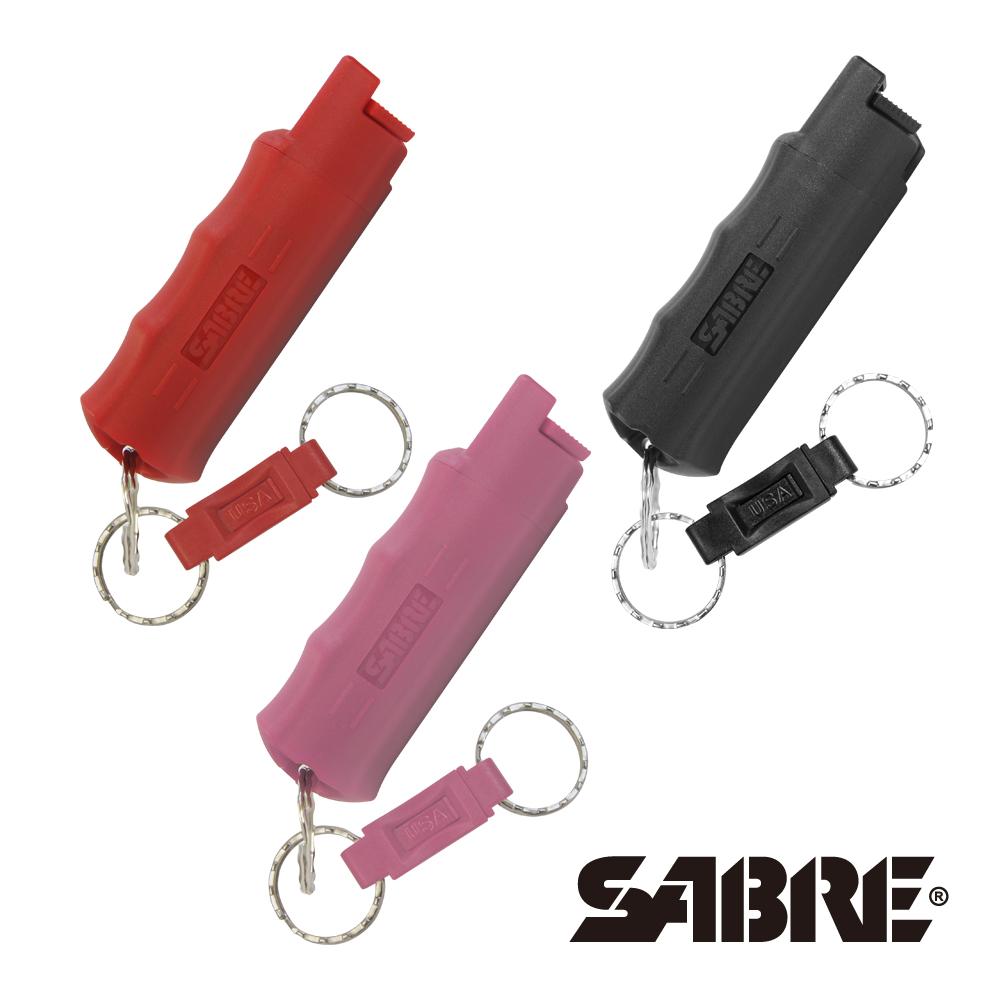 SABRE沙豹防身噴霧 快拆型防身噴霧(紅色/粉紅色/黑色/蒂芬妮藍)