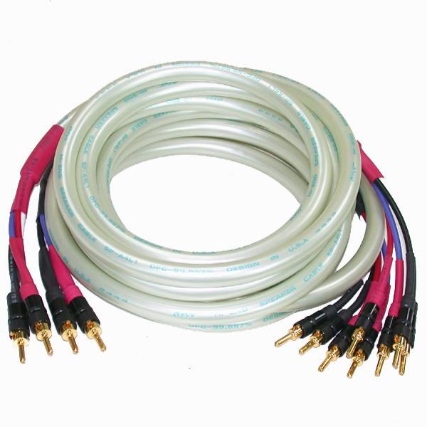 ANV 線材 喇叭線 Bi-Wiring 成品線 珠光白(SP-6H303)一對
