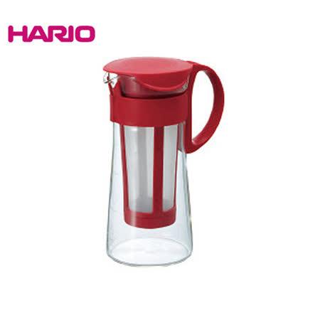 【日本HARIO】迷你咖啡色冷泡咖啡壺600ML MCPN-7CBR