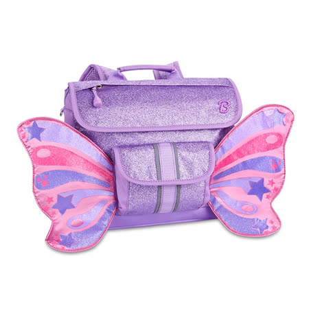 美國Bixbee - 飛飛童趣系列粉紫閃閃蝴蝶小童背包