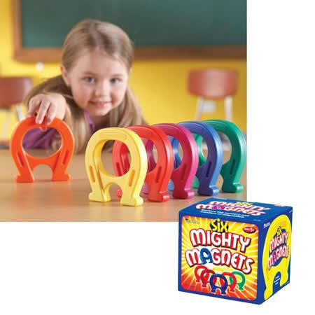 【華森葳兒童教玩具】科學教具系列-磁性馬蹄鐵 N1-0790