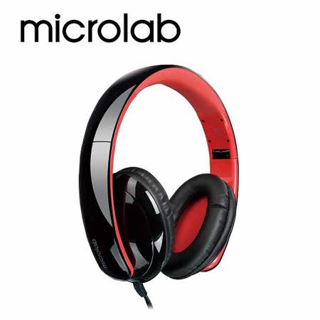 【Microlab】K310多功能立體聲多媒體耳機 (含通訊麥克風)