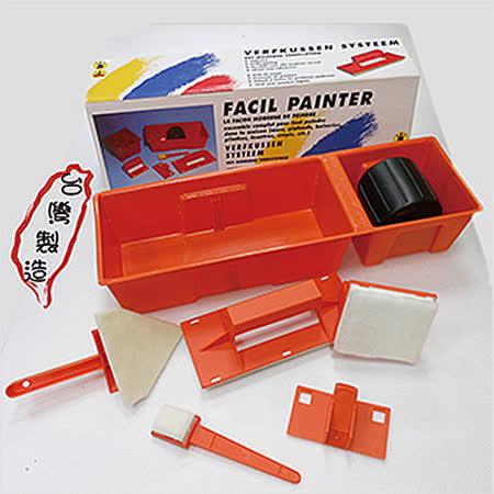 《派樂》台灣製造羊毛油漆刷具組(附1.5尺伸縮鋁桿)油漆塗刷/粉刷/水泥漆/木牆/壁貼/室內裝潢