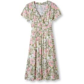 サマー・ニット・ドレス、フローラル/Summer Knit Dress, Floral