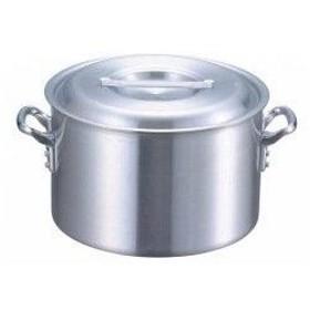 ノーブランド 商品コード:8106700 EBM アルミ プロシェフ 電磁 半寸胴鍋(目盛付)21cm