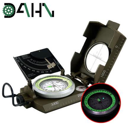 DAHN達恩 多功能高精度夜光指南針/指北針/坡度測量器