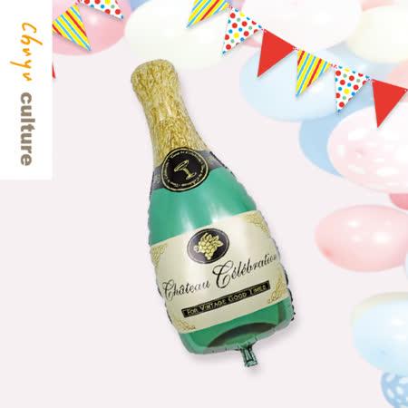 珠友 DE-03160 派對佈置-鋁箔香檳氣球/浪漫歡樂場景裝飾/會場佈置
