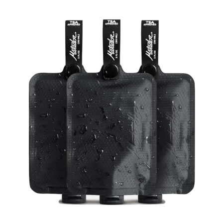 Matador 鬥牛士 FlatPak™ Toiletry Bottle 便攜沐浴旅行分裝瓶-3入組