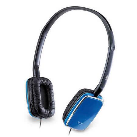 Genius GHP-420S 自我風格主義-時髦款音樂耳機-(藍)