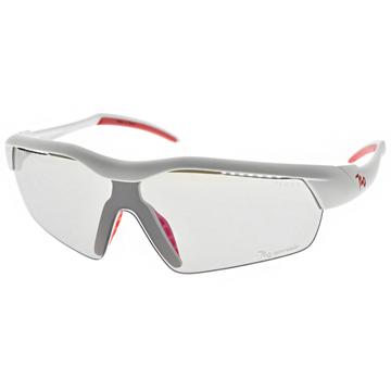 720運動太陽眼鏡 多層鍍膜防爆PC片系列 (白-紅/灰底變色片) #B325 C03(Hitman JR)