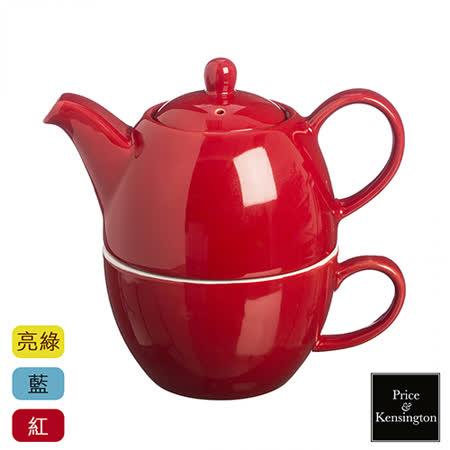 【P&K】茶壺馬克杯組(亮綠色)