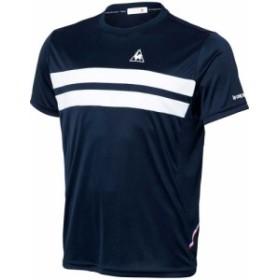 【メール便OK】lecoq sportif(ルコック) QTULJA31ZZ 半袖シャツ テニス ユニセックス