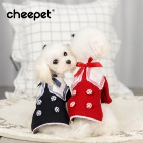 趣派のメーカー直売の秋冬新型日系学院のウールですコートの泰迪マルティスの子犬服です