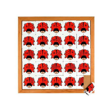 【華森葳兒童教玩具】益智邏輯系列-甲蟲計數遊戲 K5-522102