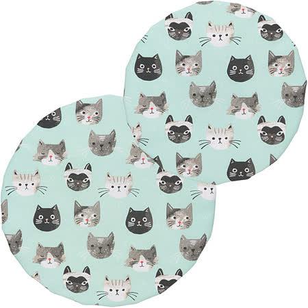 《NOW》不透氣防塵罩大小2件(貓咪)