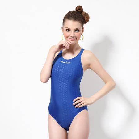 ≡MARIUM≡  大女競賽型泳裝─寶藍 MAR-8002W