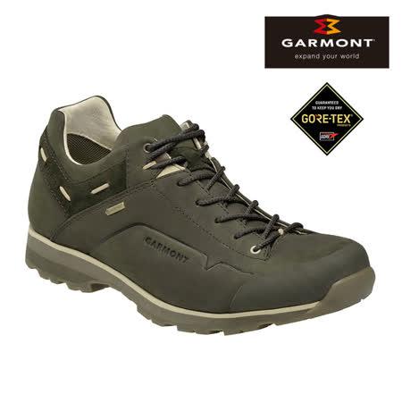 GARMONT 男款 Gore-Tex低筒休閒旅遊鞋Miguasha Low Nubuck 481243/211 橄欖綠 / 城市綠洲 (GoreTex、防水透氣、黃金大底、步道健行)