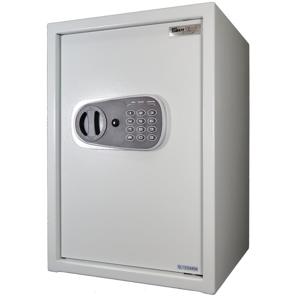 聚富 小型簡美型保險箱 50FD