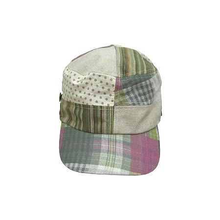 造型淑女帽◇Track◇《綠色系格紋》