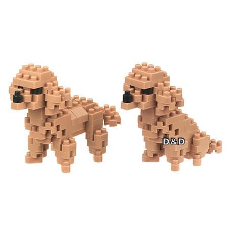 (購物車) 《 Nano Block 迷你積木 》【 可愛動物系列 】NBC-252 貴賓犬