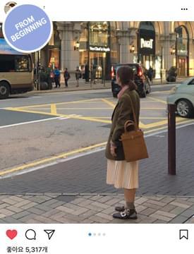 韓國空運 - Made_bottom-145_accordion pleats skirt_B (size : S,M) 裙子