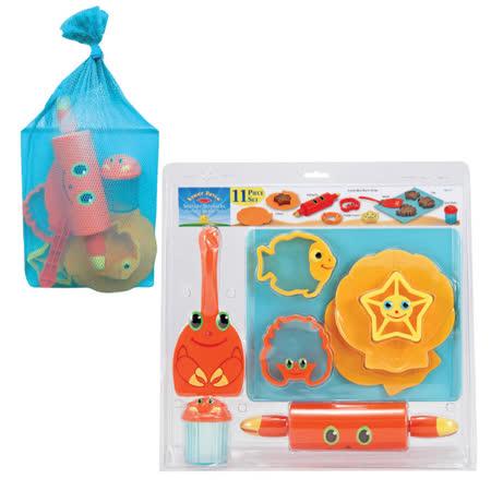 【華森葳兒童教玩具】戶外遊戲器材-塑沙工具組 N7-6434